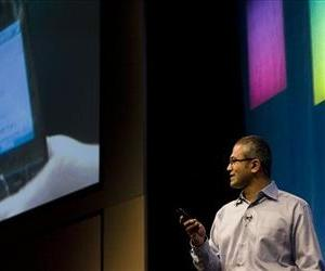 Satya Nadella is show in this May 21, 2008 photo.