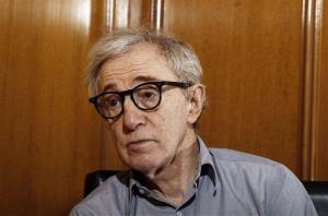 In this Dec. 29, 2011 file photo, Woody Allen, director of the film, Midnight in Paris, is photographed during an interview in Beverly Hills, Calif.