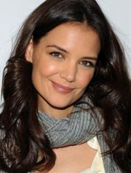 Actress Katie Holmes of the Broadway play Dead Accounts poses for a photo during press day at Sardi's Restaurant on Friday Oct. 12, 2012 in New York.