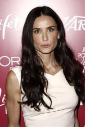 Demi Moore arrives at Variety's 3rd Annual Power of Women Luncheon in Beverly Hills, Calif., in this Sept. 23, 2011 photo.