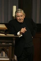 This photo released by HBO shows Ralph Waite as Reverend Norman Balthus in the TV series Carnivale