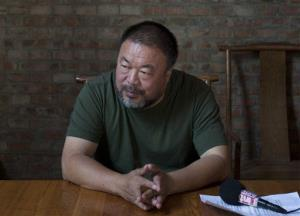 A 2013 file photo of Chinese artist Ai Weiwei.