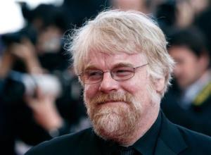 In this 2008 photo, Philip Seymour Hoffman arrives for the premiere of 'Synecdoche' at Cannes.