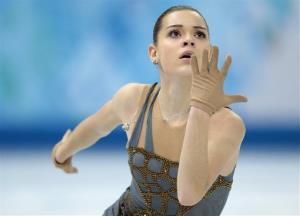 Adelina Sotnikova of Russia won the gold.