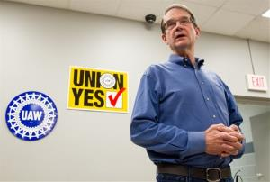 United Auto Workers President Bob King discusses the union's defeat.