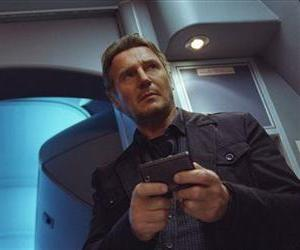 This image released by Universal Pictures shows Liam Neeson in a scene from Non-Stop.
