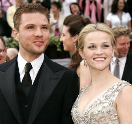 In this March 5, 2006, file photo, Ryan Phillippe arrives with Reese Witherspoon at the Academy Awards in Los Angeles.