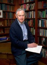 Dr. Sherwin Nuland. seen here in his study in Hamden, Conn., has died at age 83.