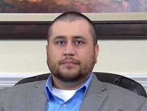 George Zimmerman is seen in a video released by attorney Howard Iken yesterday.