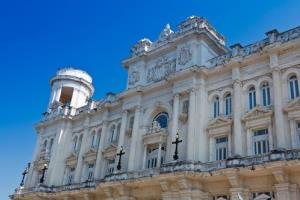 The National Museum of Fine Arts in Havana.
