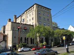 The historic Berkeley City Club was built in 1929 by architect Julia Morgan.