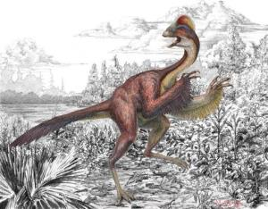 This illustration provided by the Carnegie Museum of Natural History shows the dinosaur Anzu wyliei.