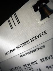 The IRS says it tries to contact people by mail before calling.