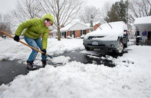 Don't put the shovels away just yet if you live in the Northeast.