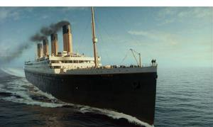 The Titanic, as recreated for James Cameron's film.
