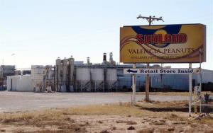 The Sunland Inc. peanut butter and nut processing plant in eastern New Mexico.