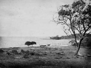 The once site of a penal colony in Queensland, Australia, circa in 1876.