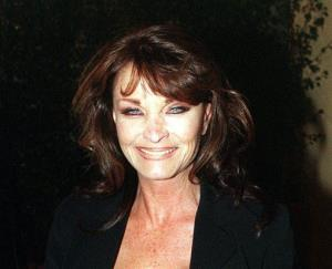 In Oct. 6 1998 file photo, British actress Kate O'Mara, who has died at the age of 74.