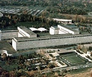 This is a 1979 file photo of CIA headquarters in Langley, Va., seen from an aerial view.
