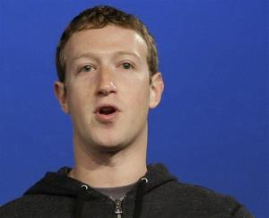 In this Thursday, March 20, 2013 file photo, Facebook CEO Mark Zuckerberg speaks at Facebook headquarters in Menlo Park, Calif.