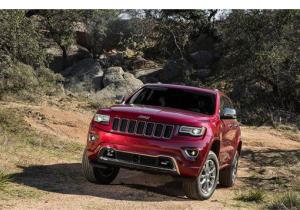 The new 2014 Jeep Grand Cherokee.