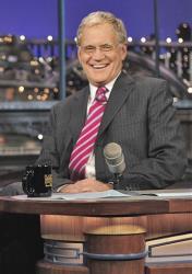 David Letterman, in 2010.