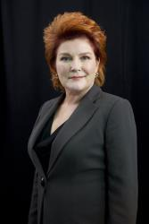 This Oct. 7, 2013 photo shows actress Kate Mulgrew in New York to promote the Netflix original series Orange Is The New Black.