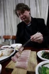 Joe McPherson, operator of Korean food blog ZenKimchi, digs in.