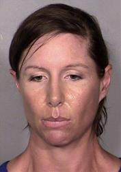 This image provided by the Las Vegas Metropolitan Police Department shows Alison Ernst.