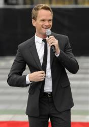 Neil Patrick Harris, host of Sunday's 65th Emmy Awards telecast, addresses reporters during Emmy Awards Press Preview Day, on Wednesday, Sept. 18, 2013, in Los Angeles.