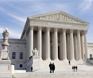 This Wednesday, Jan. 25, 2012 file photo shows the US Supreme Court Building Washington.