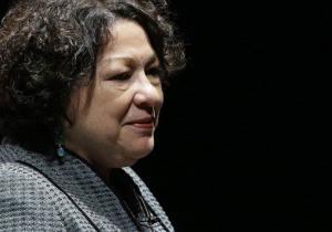 Supreme Court Justice Sonia Sotomayor.