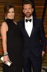 Olivia Wilde, left and Jason Sudeikis attend the 2014 Vanity Fair Oscar Party, on Sunday, March 2, 2014, in West Hollywood, Calif.