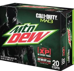 Mountain Dew (R) Mega XP at Walmart.