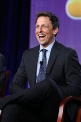 This photo released by NBC shows Seth Meyers.