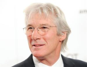 In a Wednesday, Feb. 9, 2011 file photo, actor Richard Gere attends amfAR's annual New York Gala at Cipriani Wall Street In New York.