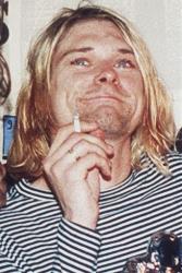 Kurt Cobain in 1993.
