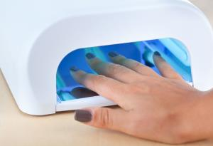 The devices are used to dry and cure nail polish in salons.