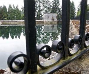 The Mount Tabor number 1 reservoir in Portland, Ore., is seen in a June 20, 2011 photo.