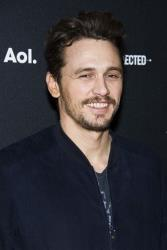 James Franco attends the AOL NewFront on Tuesday, April 29, 2014 in New York.