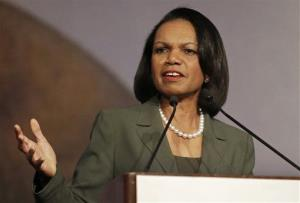 Condoleezza Rice won't be speaking at Rutgers after all.