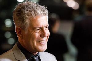 In this Oct. 11, 2012 file photo, Anthony Bourdain is seen in New York.