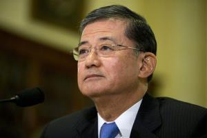 Veterans Affairs Secretary Eric Shinseki.