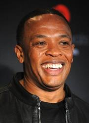 In this 2009 file photo, Dr. Dre poses for pictures at a press conference.