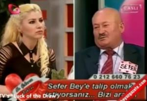 Sefer Calinak is seen discussing his various murders on the Turkish dating show Luck of the Draw.