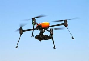File photo of a drone.