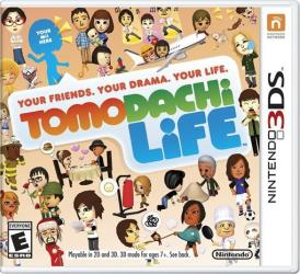 This photo provided by Nintendo shows the cover of Tomodachi Life.