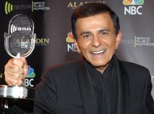 In this Oct. 27, 2003 file photo, Casey Kasem poses for photographers after receiving the Radio Icon award during The 2003 Radio Music Awards in Las Vegas.