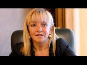 Isabel Carrasco, 59, was shot dead in Leon yesterday.