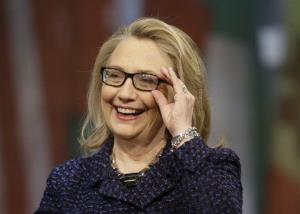 Hillary Clinton in a 2013 file photo.
